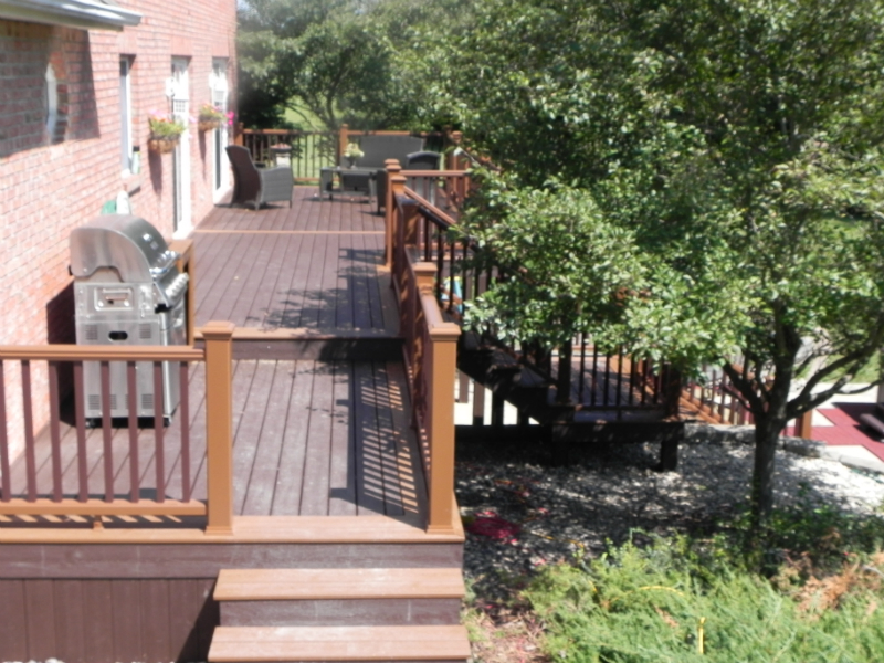 house side decking
