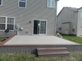 Flat deck with skirting